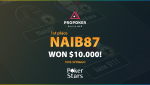 Naib87, our Spin&Go coach won a jackpot